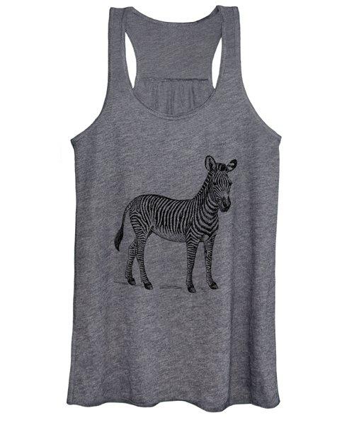 Zebra Women's Tank Top
