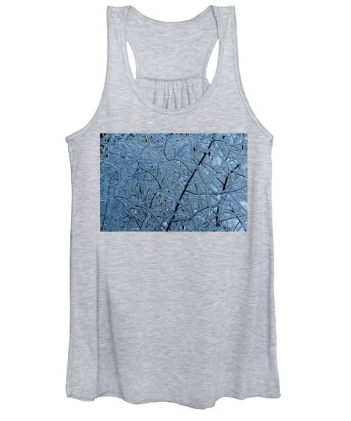 Vegetation After Ice Storm  Women's Tank Top
