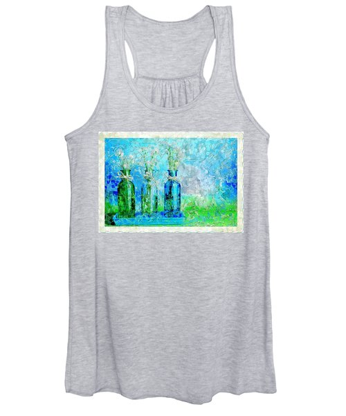 1-2-3 Bottles - S13ast Women's Tank Top