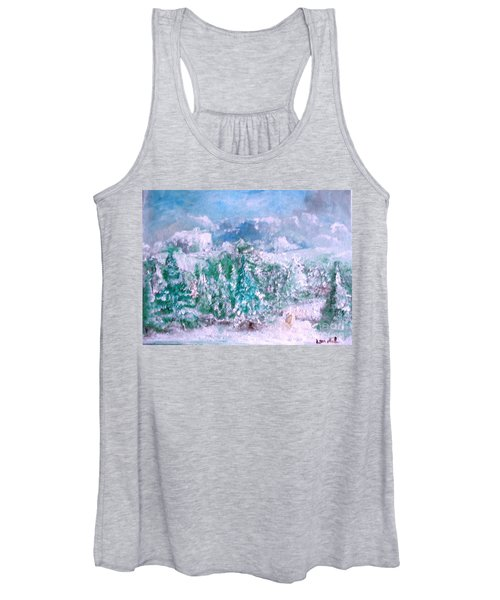 A Natural Christmas Women's Tank Top