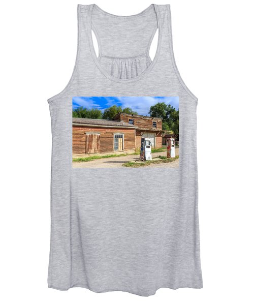 Abandoned Mining Buildings Women's Tank Top