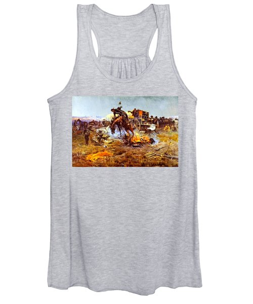 Camp Cooks Trouble Women's Tank Top