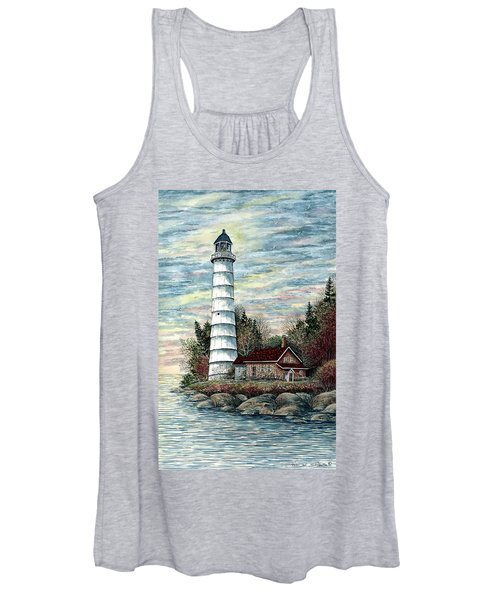 Cana Island Light Women's Tank Top
