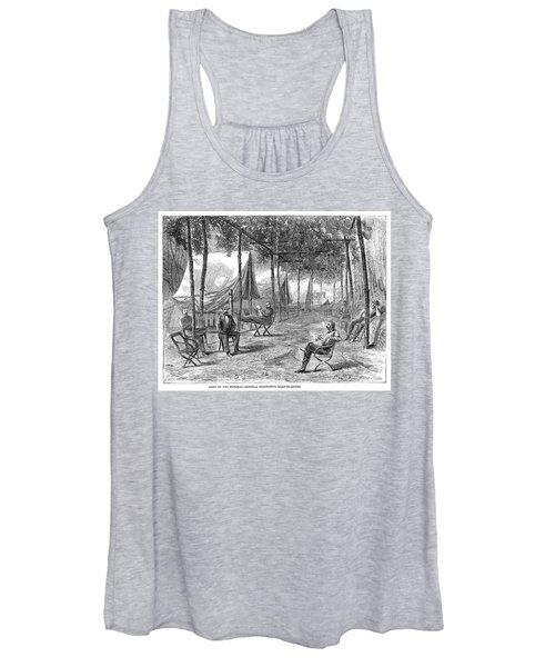 Civil War Camp, 1864 Women's Tank Top