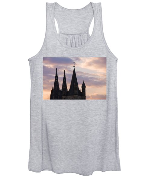 Great Saint Martin Church And Cologne Women's Tank Top