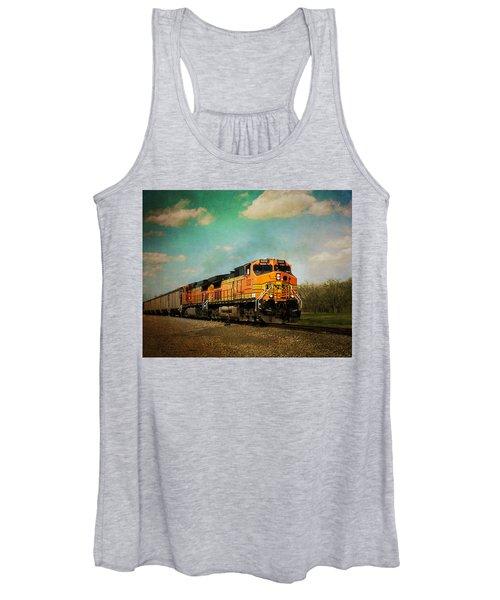Hear The Train A Coming Women's Tank Top