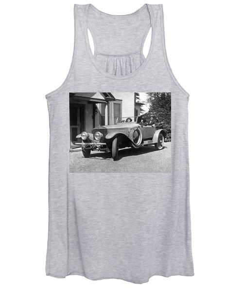 Mabel Normand In A Rolls Royce Women's Tank Top