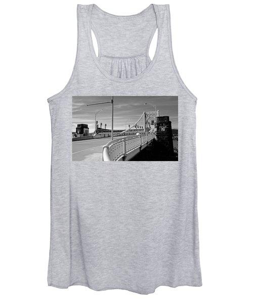 Pittsburgh - Roberto Clemente Bridge Women's Tank Top