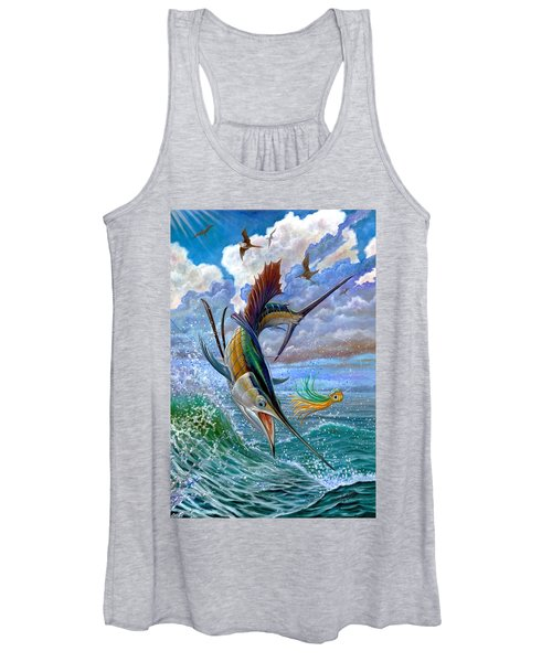 Sailfish And Lure Women's Tank Top