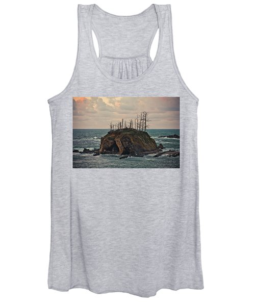 Squaw Island In Sunset Bay Park Women's Tank Top