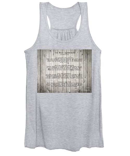 The Four Agreements Women's Tank Top