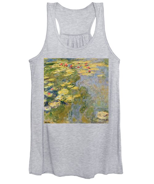 The Waterlily Pond Women's Tank Top