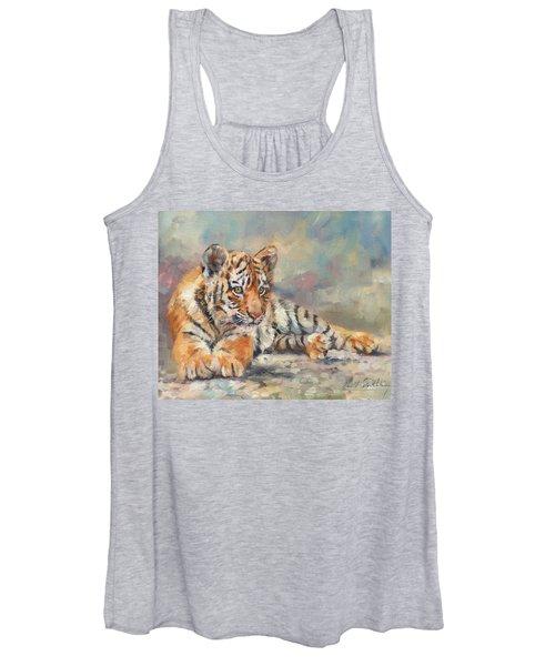 Tiger Cub Women's Tank Top