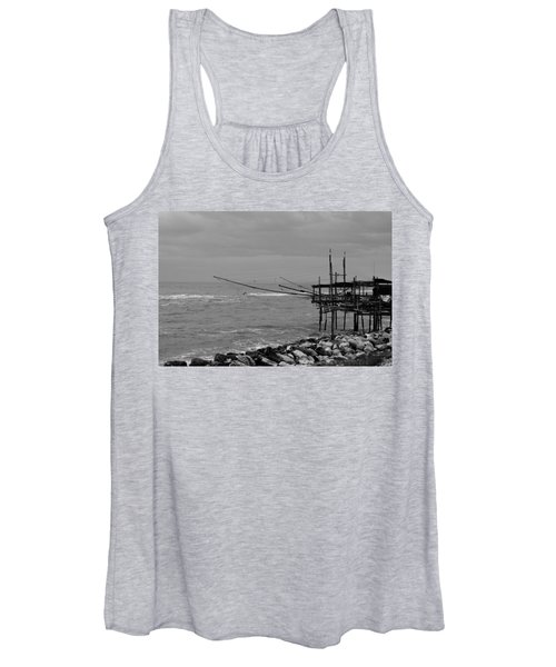 Trabocco On The Coast Of Italy  Women's Tank Top