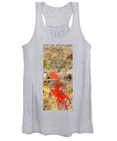 We All Bleed The Same Color II Women's Tank Top