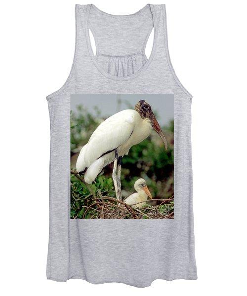 Wood Storks Women's Tank Top