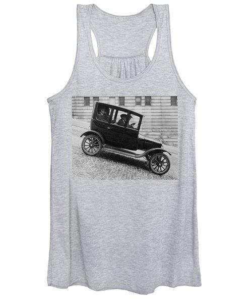 1921 Ford Model T Tudor Women's Tank Top