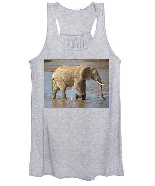 African Elephant Women's Tank Top