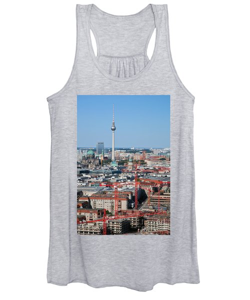 Berlin Cathedral And Tv Tower Women's Tank Top