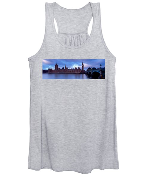 Government Building At The Waterfront Women's Tank Top