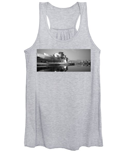 Reflection Of A Museum On Water Women's Tank Top