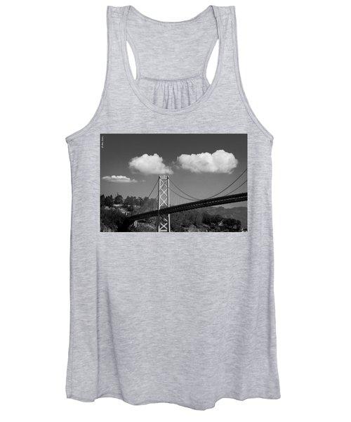 San Francisco Bay Bridge Women's Tank Top