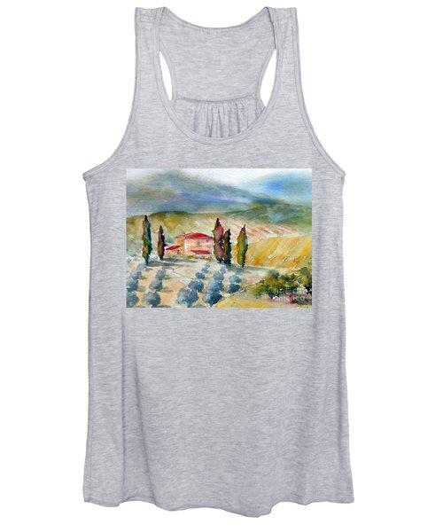 Tuscan Landscape Women's Tank Top