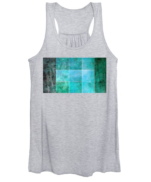 3 By 3 Ocean Women's Tank Top