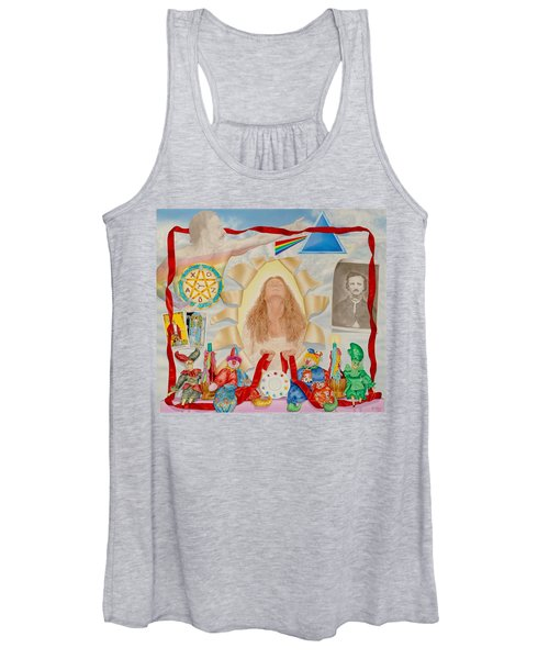 Invocation Of The Spectrum Women's Tank Top
