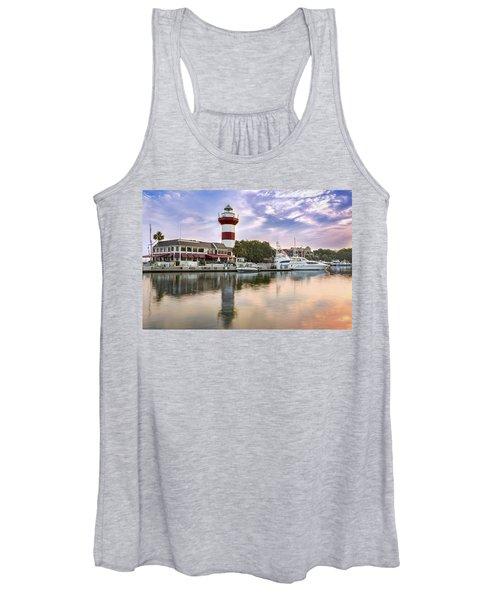 Lighthouse On Hilton Head Island Women's Tank Top