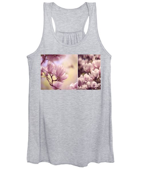 Magnolia Flowers Women's Tank Top