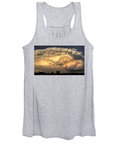 Prairie Storm Clouds Women's Tank Top