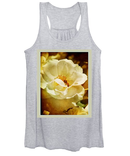 A Bee And Rose Women's Tank Top