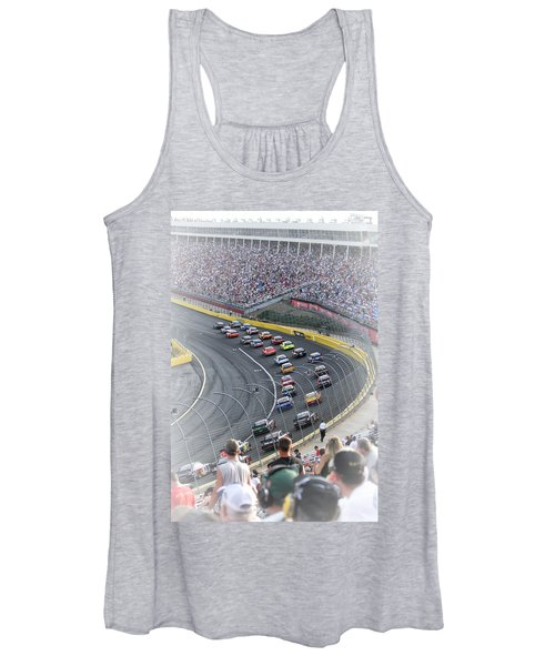 A Day At The Racetrack Women's Tank Top
