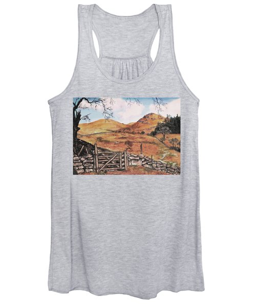 A Day In The Country Women's Tank Top