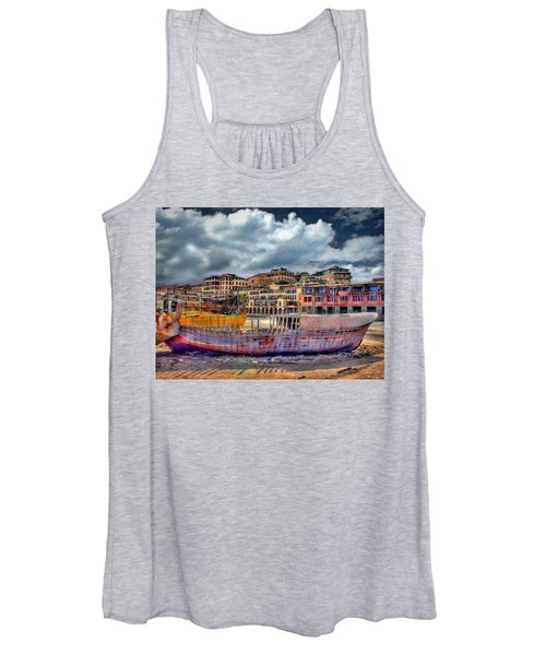 A Genesis Sunrise Over The Old City Women's Tank Top