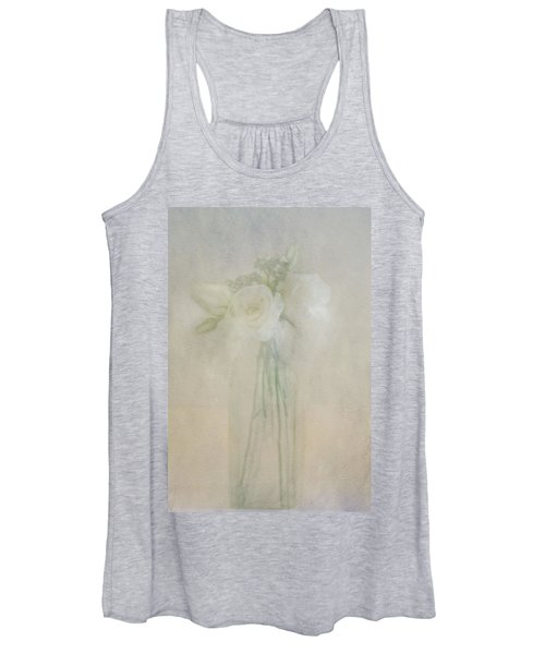 A Glimpse Of Roses Women's Tank Top