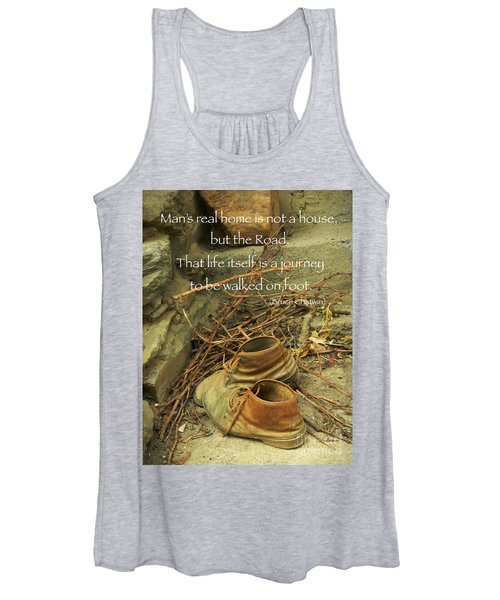 A Long Way Women's Tank Top