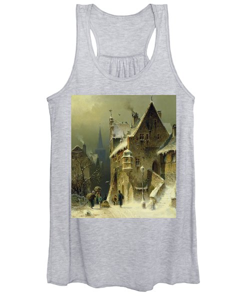 A Small Town In The Rhine Women's Tank Top