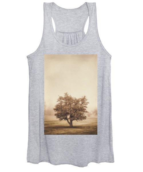A Tree In The Fog Women's Tank Top