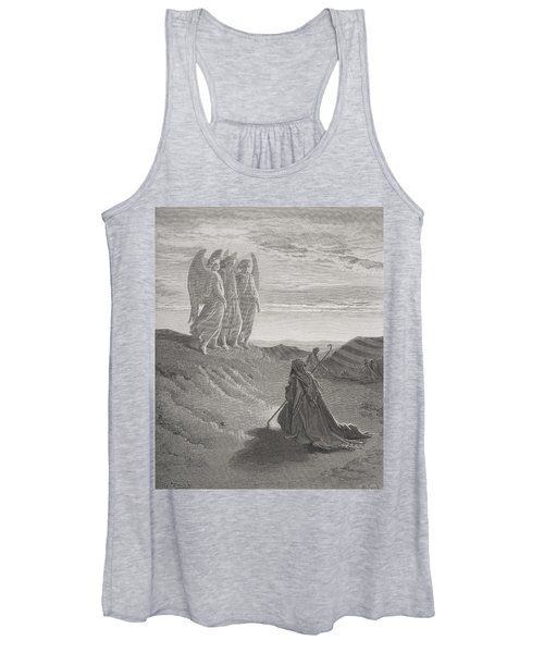Abraham And The Three Angels Women's Tank Top