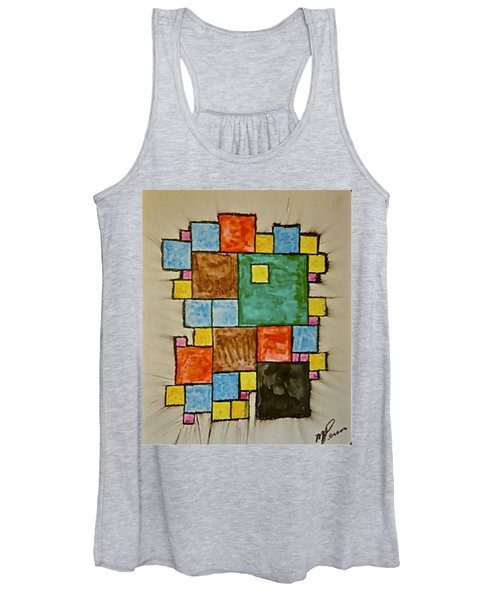 Abstract 89-003 Women's Tank Top
