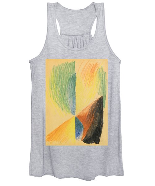 Abstract Forms Xiv Women's Tank Top