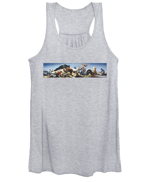 Achelous And Hercules Women's Tank Top