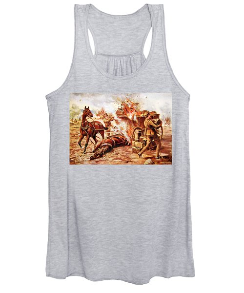 Acting-bombardier H.a. Creasey Women's Tank Top