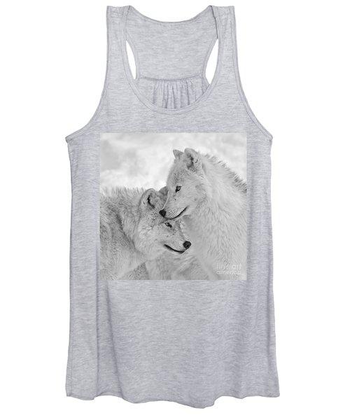 Wolf Love  Women's Tank Top