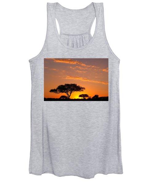 African Sunset Women's Tank Top