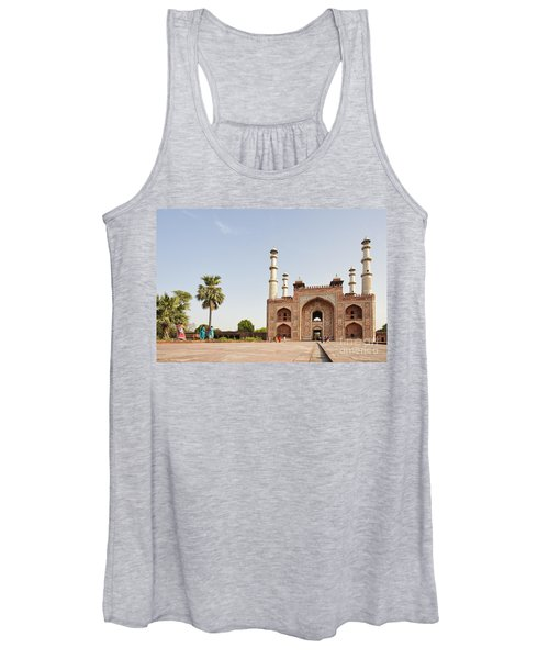 Akbar's Tomb In  India Women's Tank Top