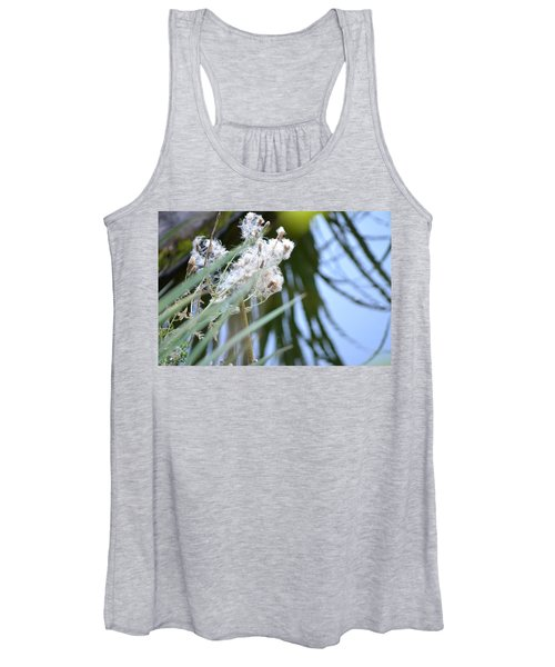 All The World Is Fluff And Posture Women's Tank Top