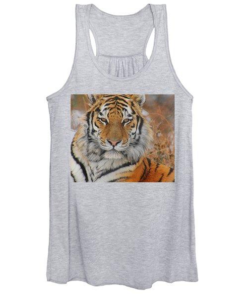 Amur Tiger Magnificence Women's Tank Top